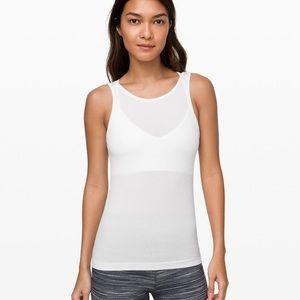 Seek simplicity tank white 6